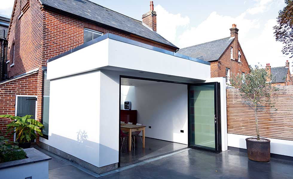 Building A Garage On A Semi Detached House