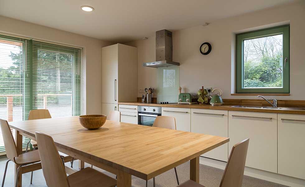 ty solar house kitchen