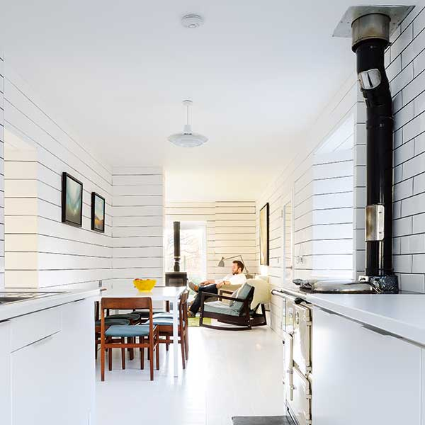 A Traditional Cottage Transformed Into A Scandinavian