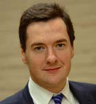 Osborne agrees: The depth of the debt crises and the underlying economics generally will make for a stormy recovery