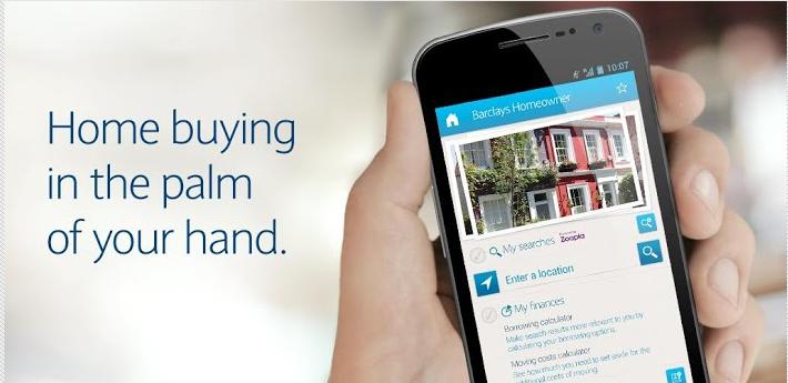 Barclays homeowner app