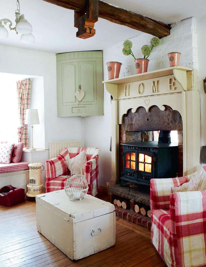 Period Living Room Massive Cottage Renovation Small Price Period Living