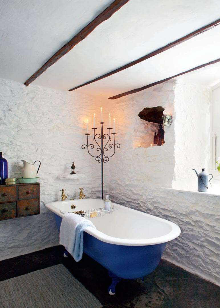 Restoring a thatched cottage period living for Bathroom designs ireland