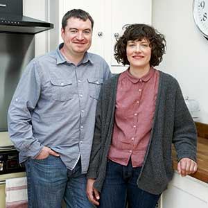 Sarah Locke and Stephen Bradshaw