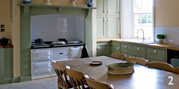 Country kitchen designs period living for Period kitchen design