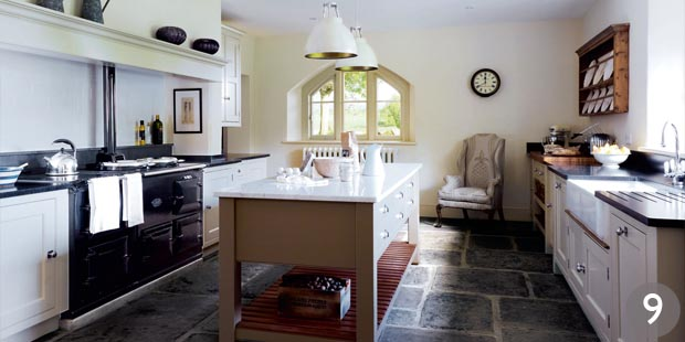Country kitchen designs period living for Country living kitchen designs