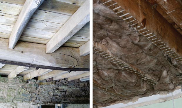An essential guide to floor insulation period living for Floor joist insulation