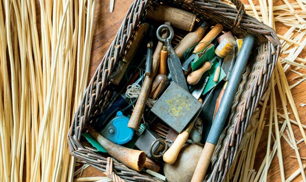 Basket Making Materials : Traditional baskets by jenny crisp period living