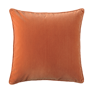 Dirty Orange cushion from Oka