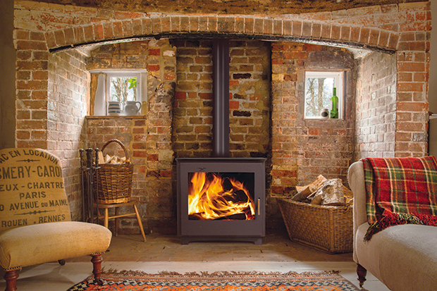How To Use A Woodburner - Period Living - Large Wood Burning Stove WB Designs