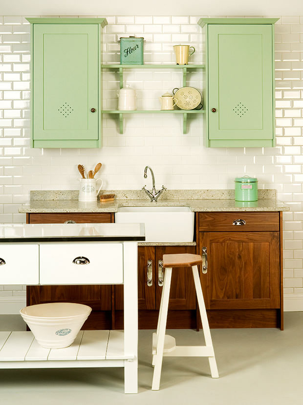 Shaker kitchen inspiration and styles period living for Kitchen lighting ideas john lewis