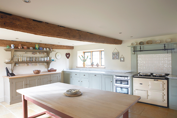 Shaker kitchen inspiration and styles period living for Kitchen without wall units