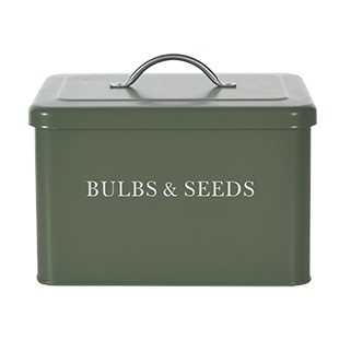 Bulb and seeds box from Garden Trading