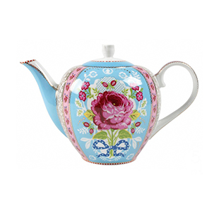 Blue rose teapot from Pip Studio