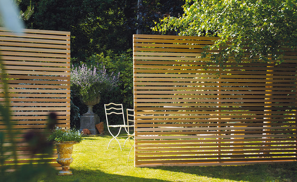 Silva Timber Western Red Cedar Slatted Screen Fence