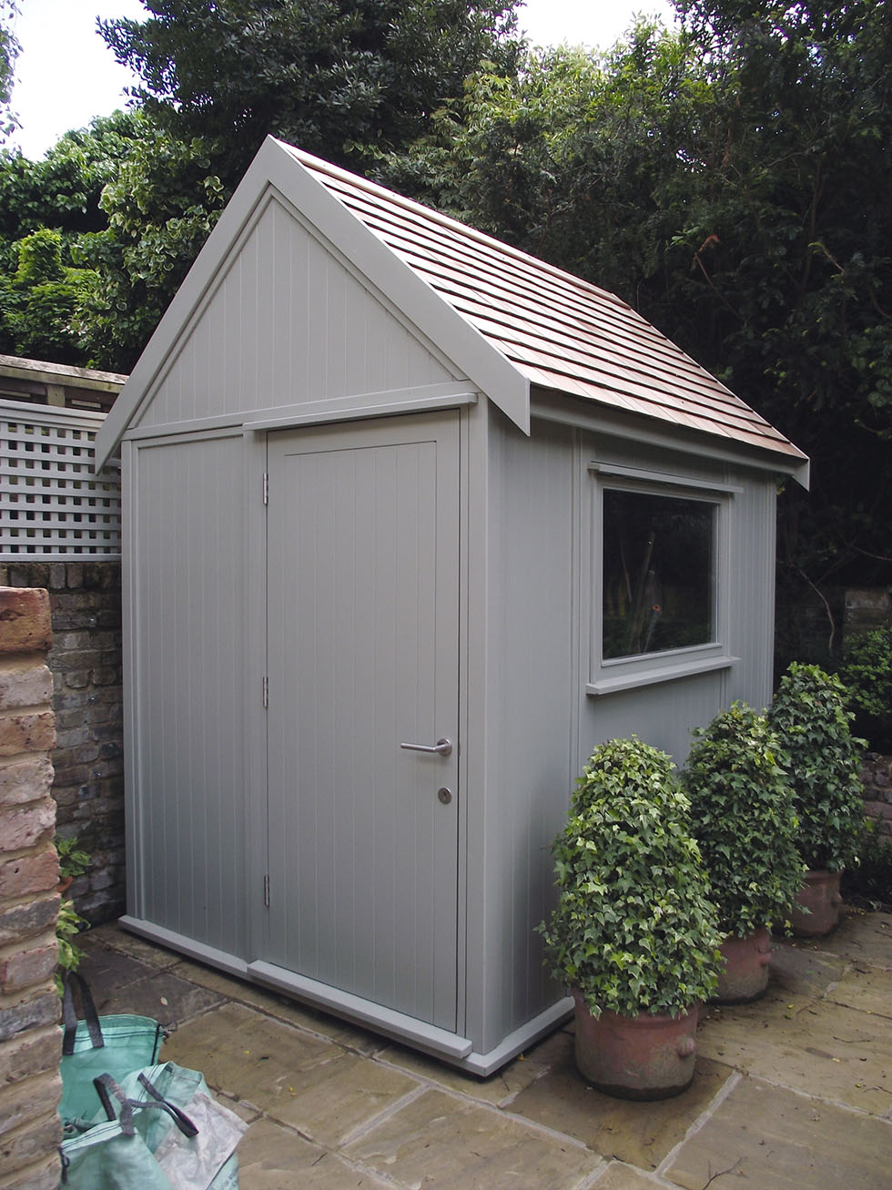 Garden sheds for period homes period living for Garden shed homebase