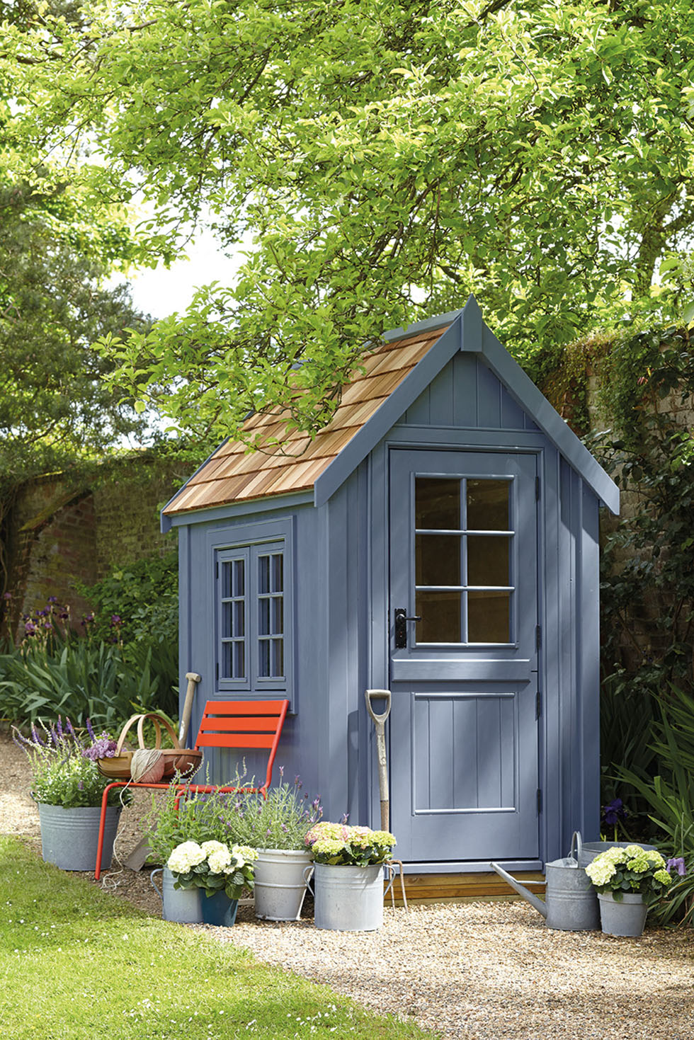 How to choose your garden shed period living for Cedar shingle shed