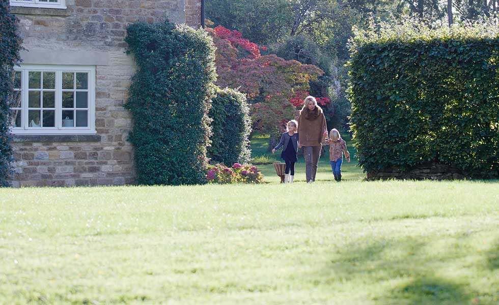 unaturally beautiful garden sympathetic extension