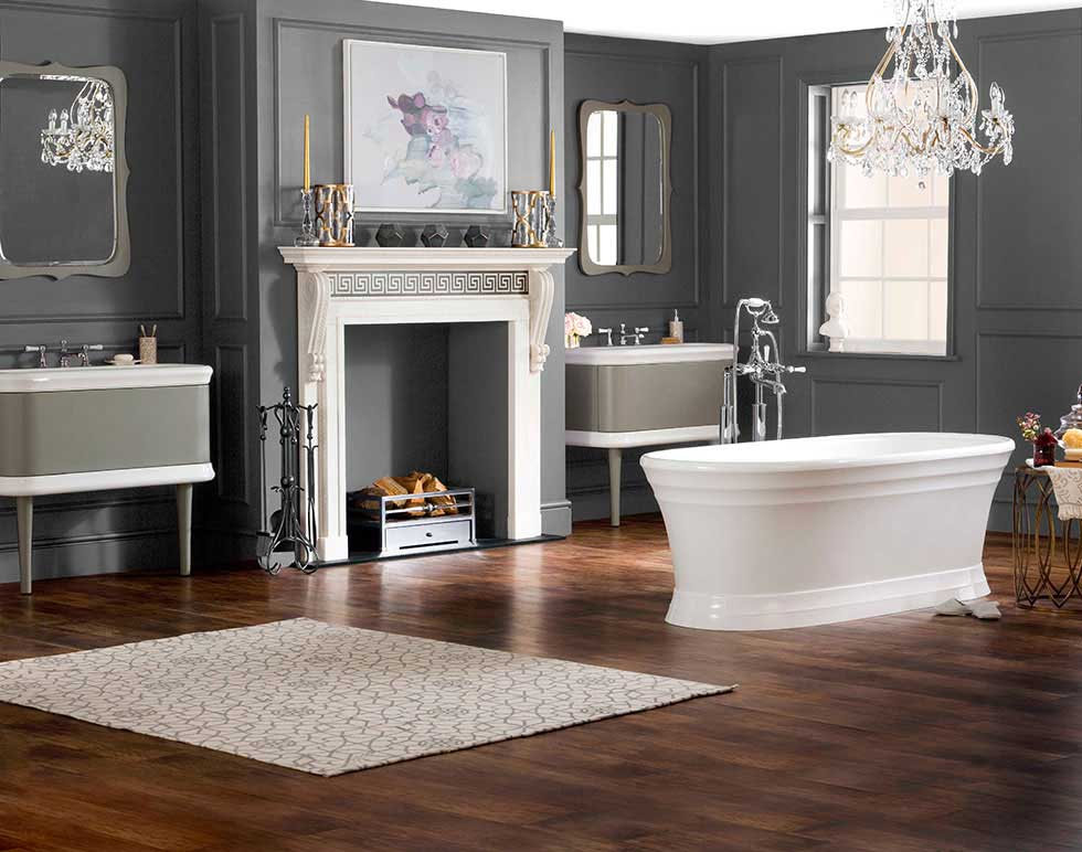 Traditional Bathroom create a traditional bathroom in your home - period living