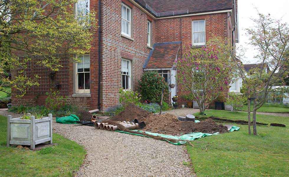Your renovation problems solved period living for Drainage around house