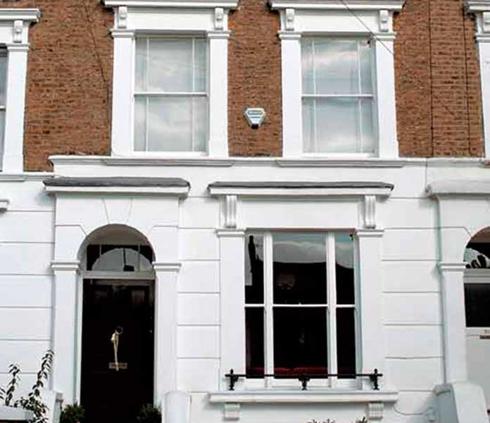 How old is your property period living - English style window boxes living facades ...