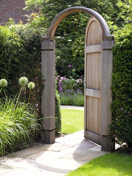 Garden gate garden trellis