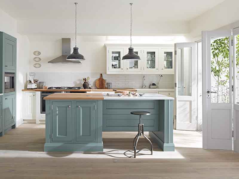 Shaker kitchen inspiration and styles period living for New kitchen london