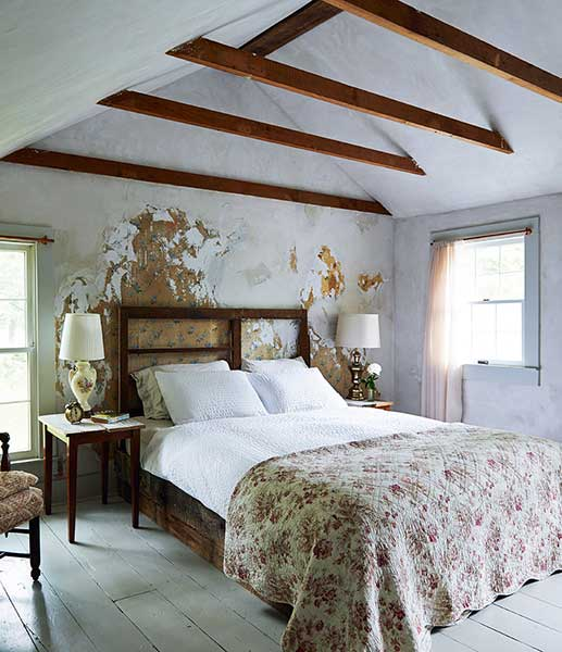 modern pastoral book country bedroom