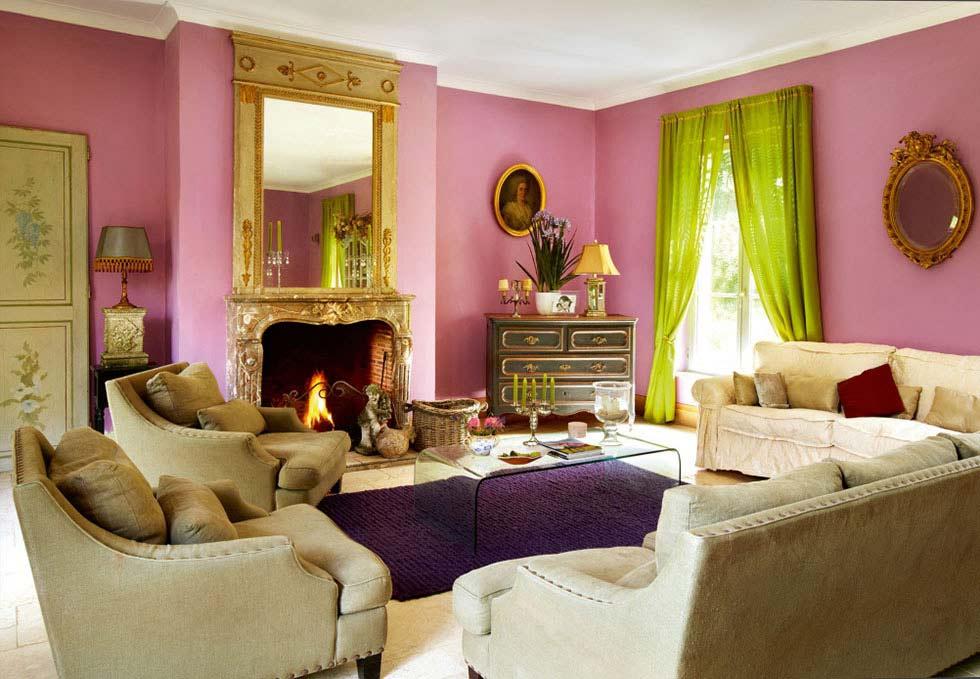 colourful french farmhouse restoration