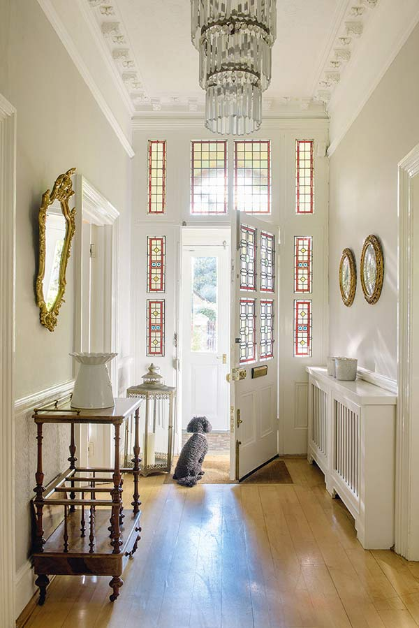 Victorian Home Foyer : Victorian house in south london period living