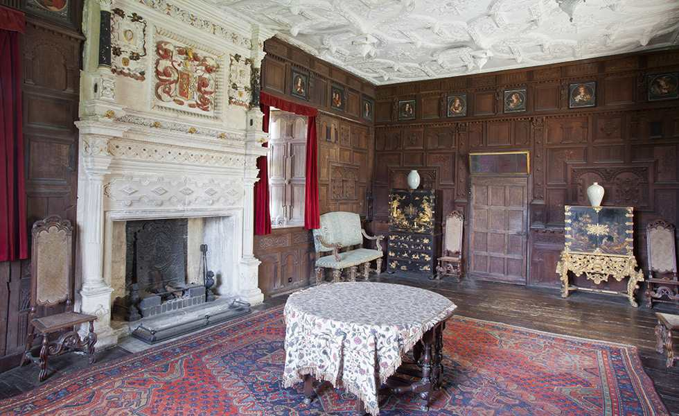 Chastleton house great chamber oxfordshire