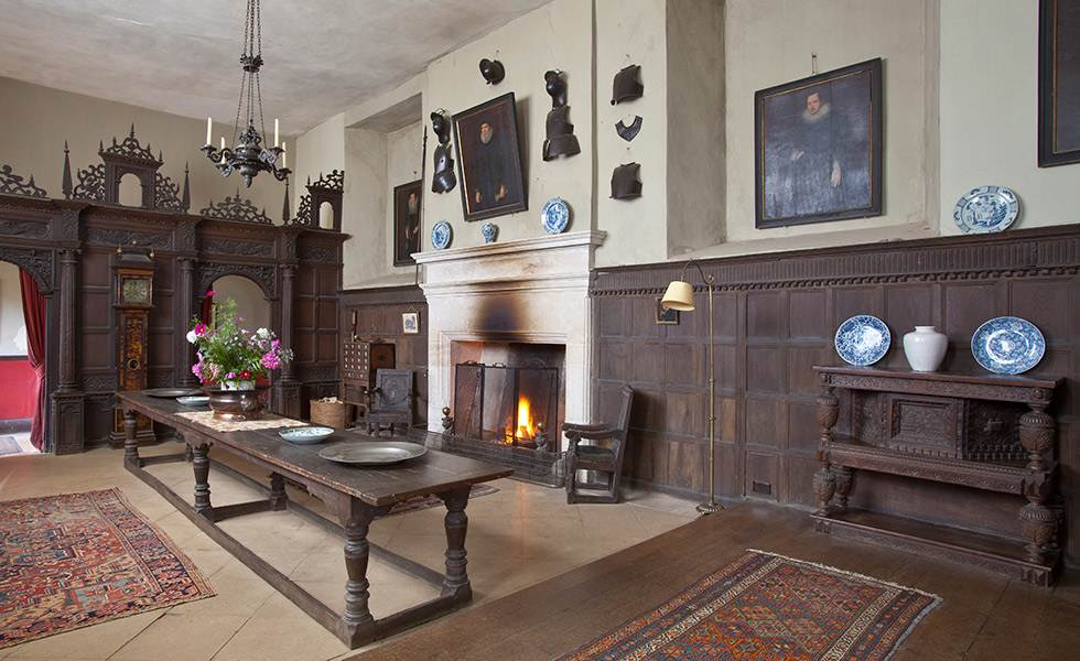 Chastleton house great hall oxfordshire