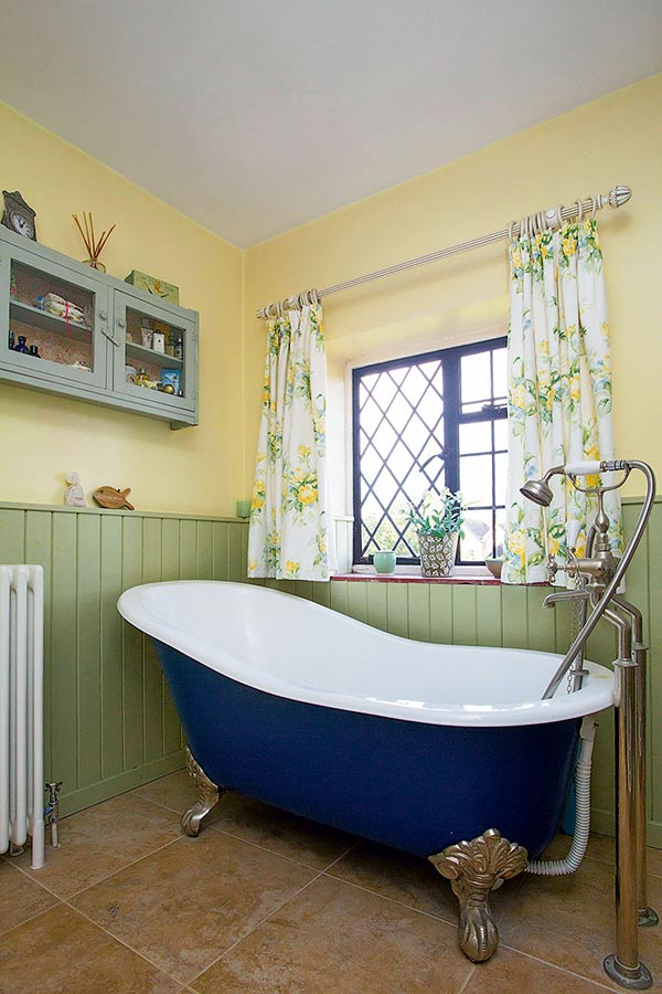 a country style cottage bathroom