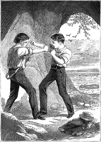 Victorian slang term for fighting