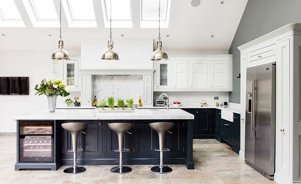 18 kitchen extension design ideas period living for Edwardian kitchen designs