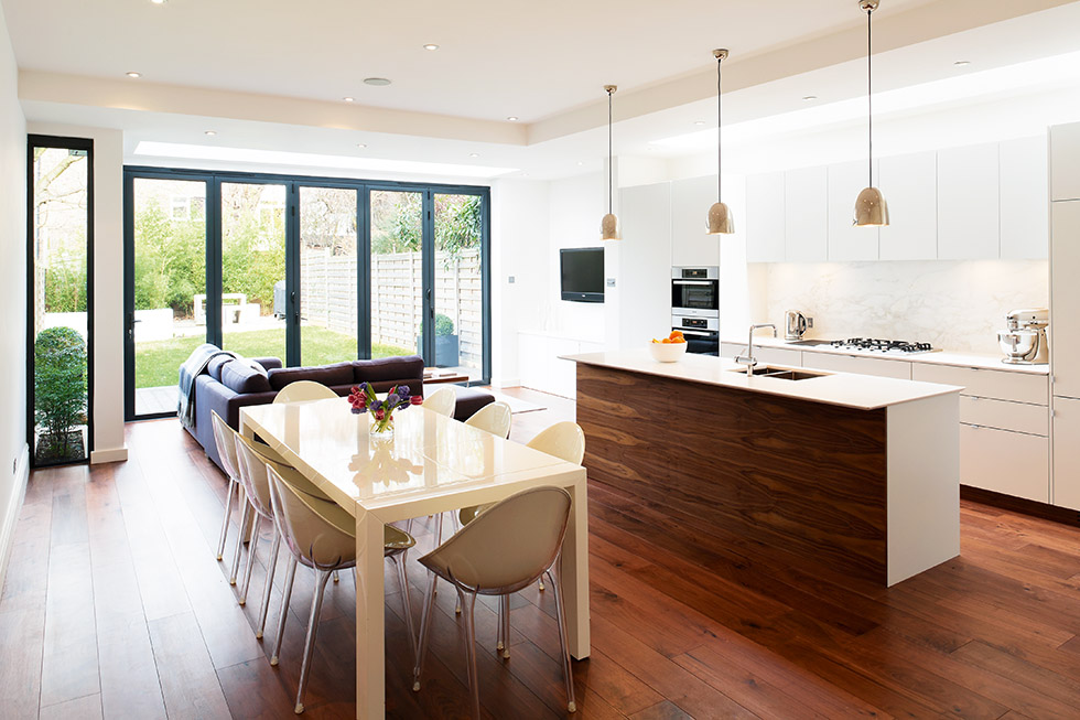 7 ways to create space real homes for Open kitchen no island