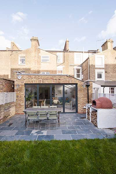 skandinavian style kitchen extensions in london