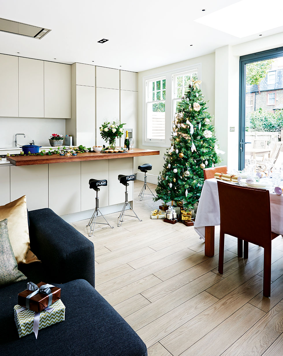 Modern Kitchen Diner From A Side Return Extension Real Homes