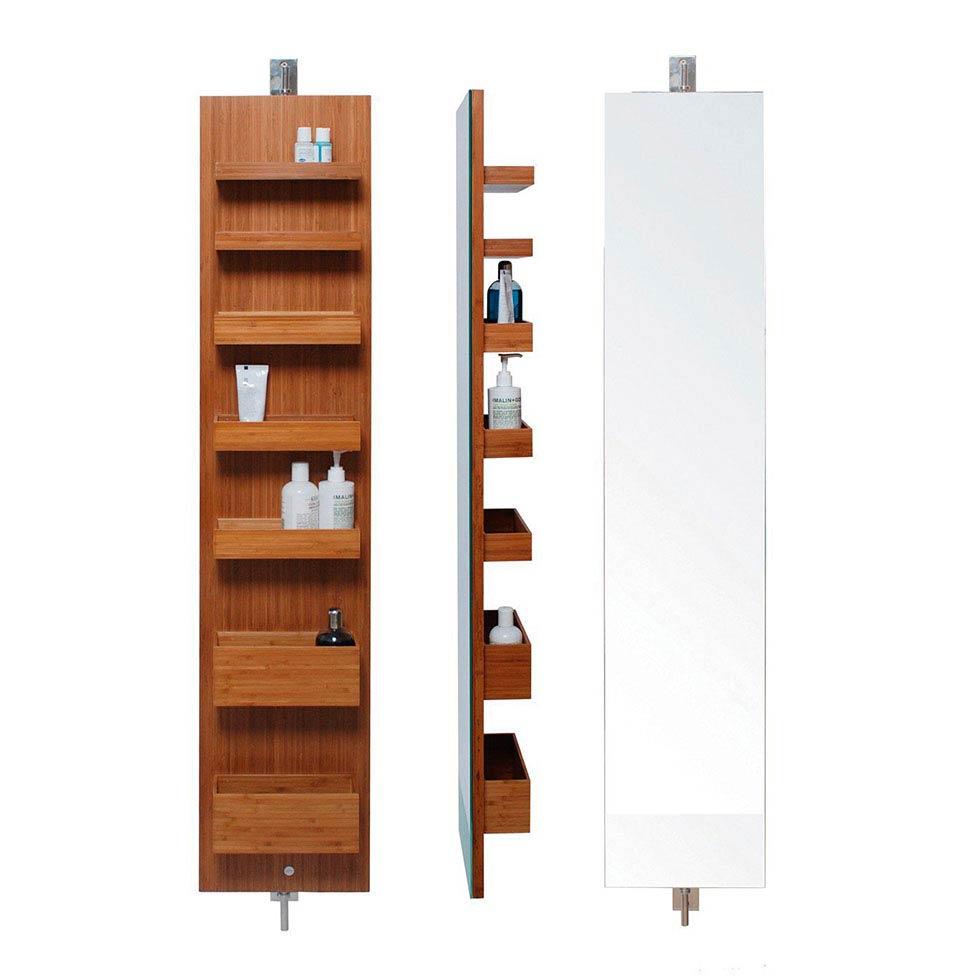 Shelving units for bathrooms - Revolving Units Bathroom Storage