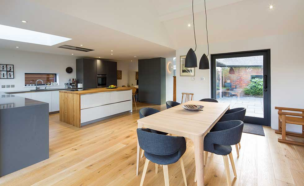 The latest kitchen layout ideas Real Homes : Pure Spaces SouthernRd kitchen diner from www.realhomesmagazine.co.uk size 980 x 600 jpeg 49kB