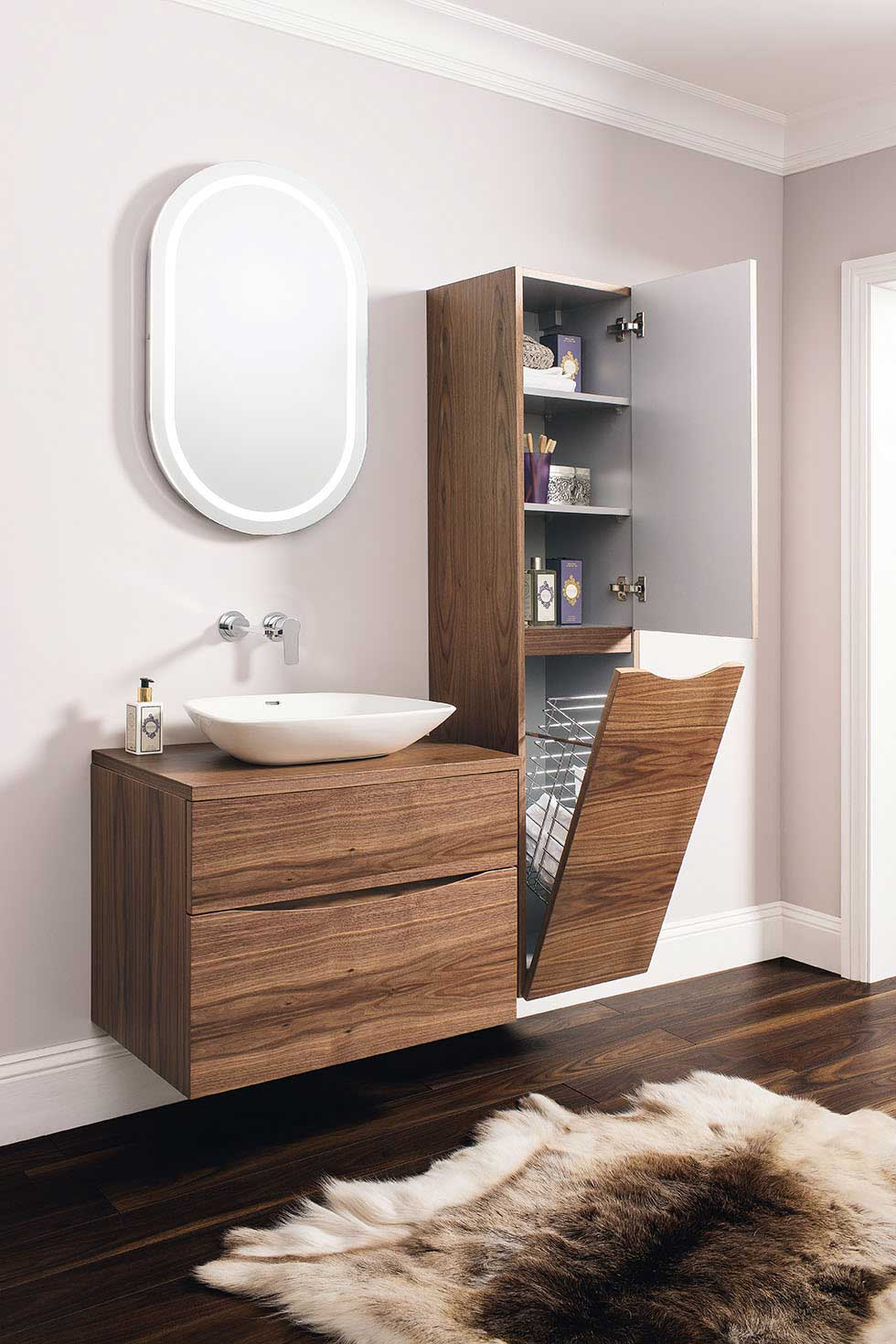 Bathroom Cabinets 30cm Wide great bathroom storage ideas - real homes
