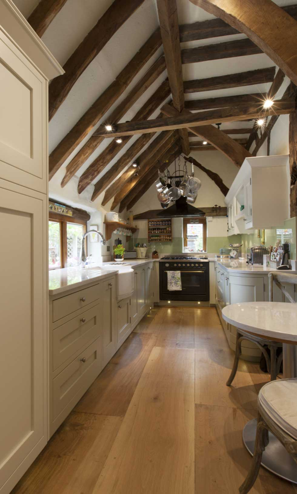 traditional-kitchen-old-beams