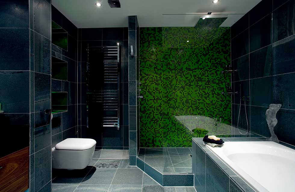 Wow factor bathroom updates real homes for Bathroom remodel under 10000