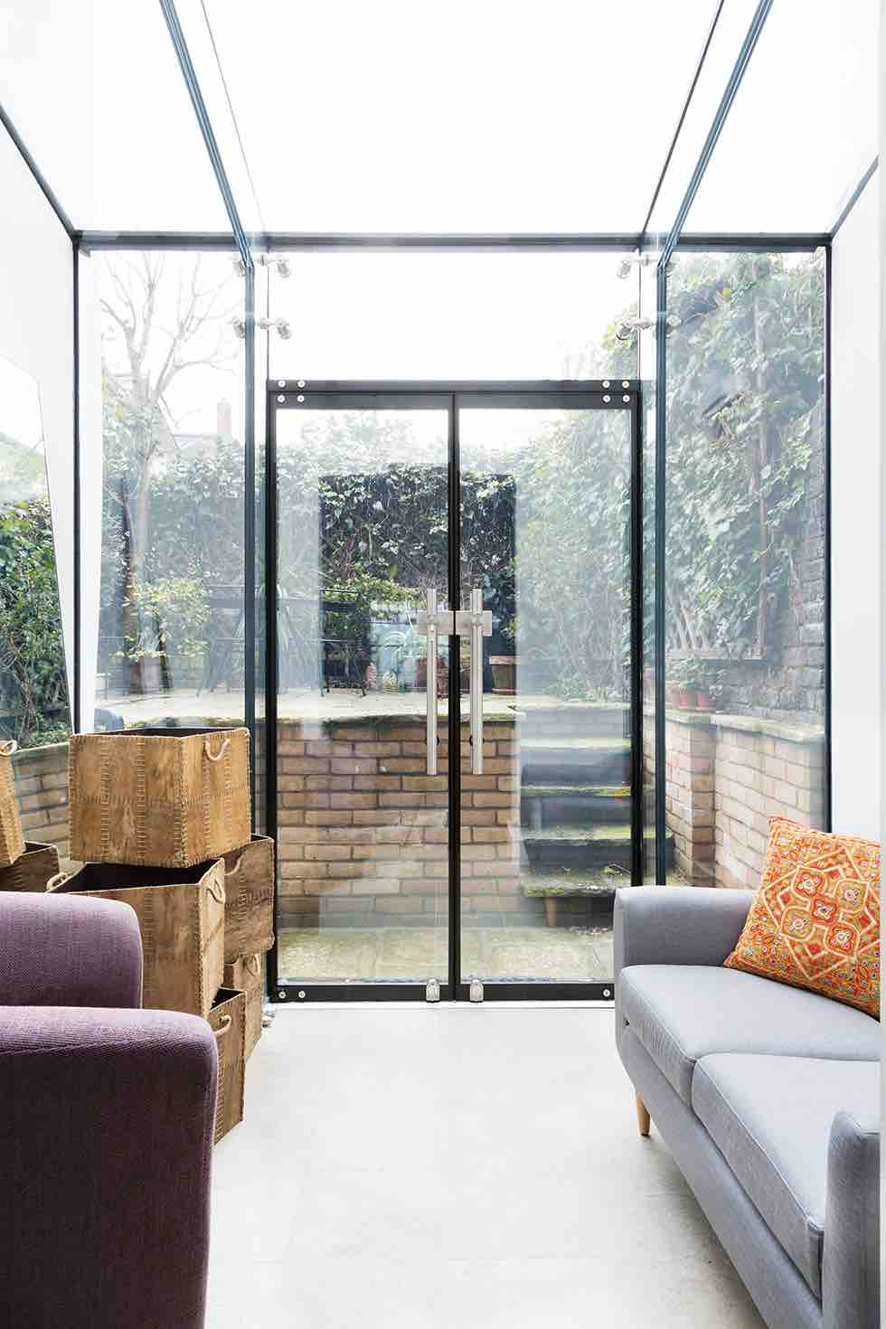 victorian terrace extension glazed room
