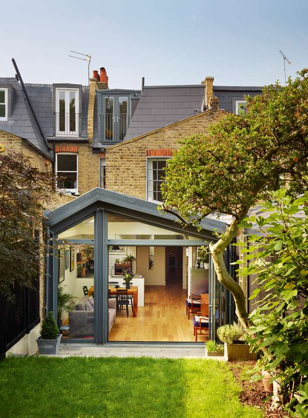 9 amazing victorian terrace transformations real homes for Modern house zoopla