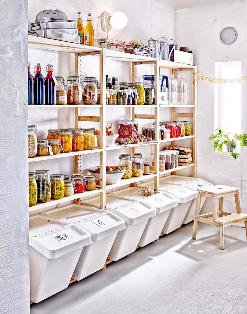ikea kitchen utility larder