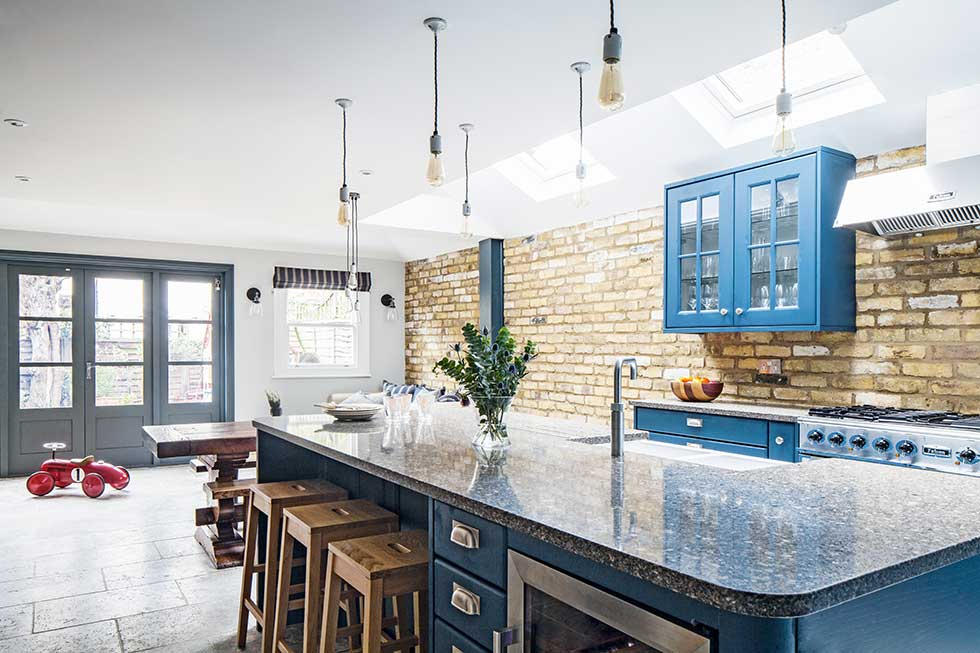 Industrial Style Kitchen Extension In London Real Homes