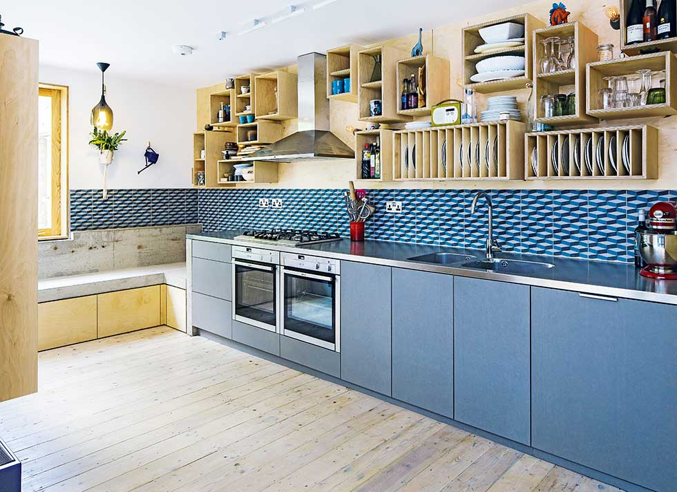 Terrace House Kitchen Design Ideas Part - 33: Kitchen Design Adding Value To A Terraced House With A Kitchen Extension  Galley Kitchen Extension On