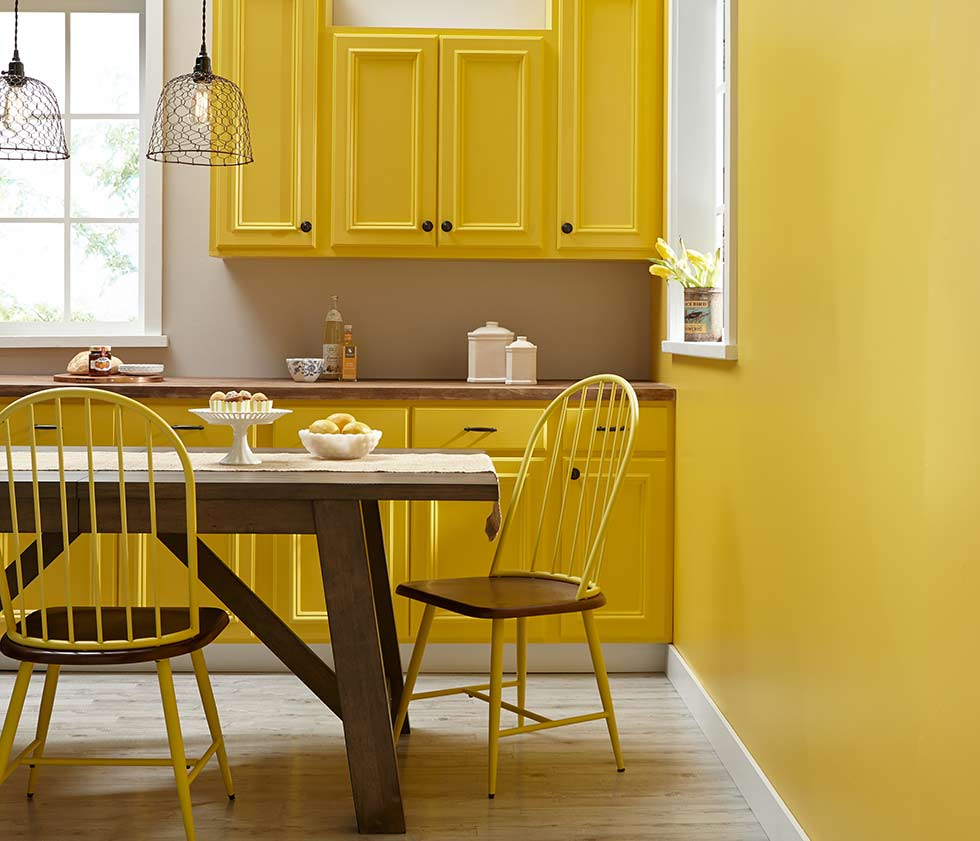 Yellow Gold Paint Color Living Room 12 Expert Tips On Decorating With Colour Real Homes