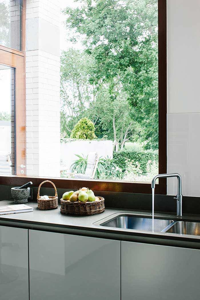architectural kitchen extension quooker tap and worktops